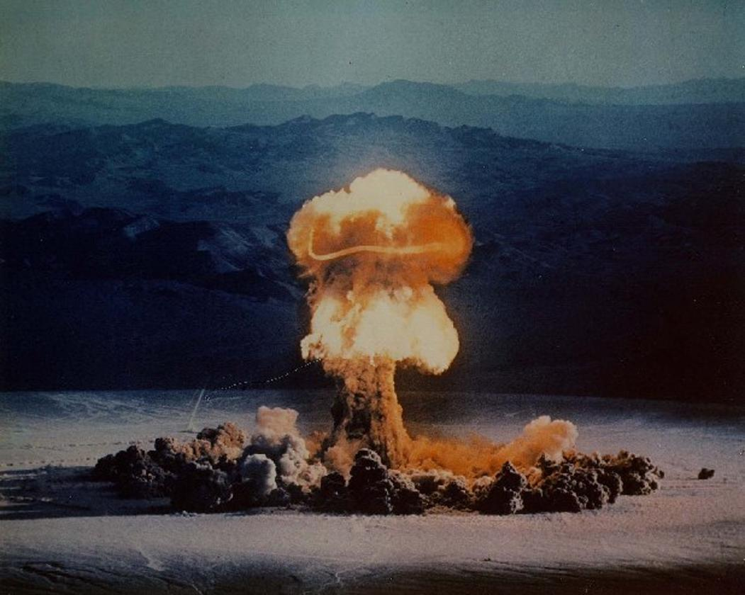 Carbon-14from above ground nuclear testing in the20th century has been found in the deepest parts of the ocean