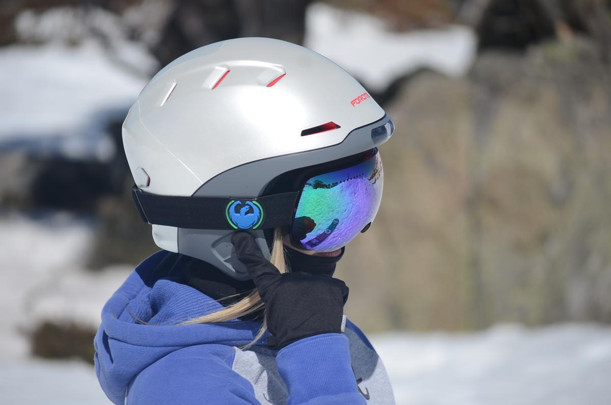 Forcite's Alpine ski helmet sports multiple electronic features