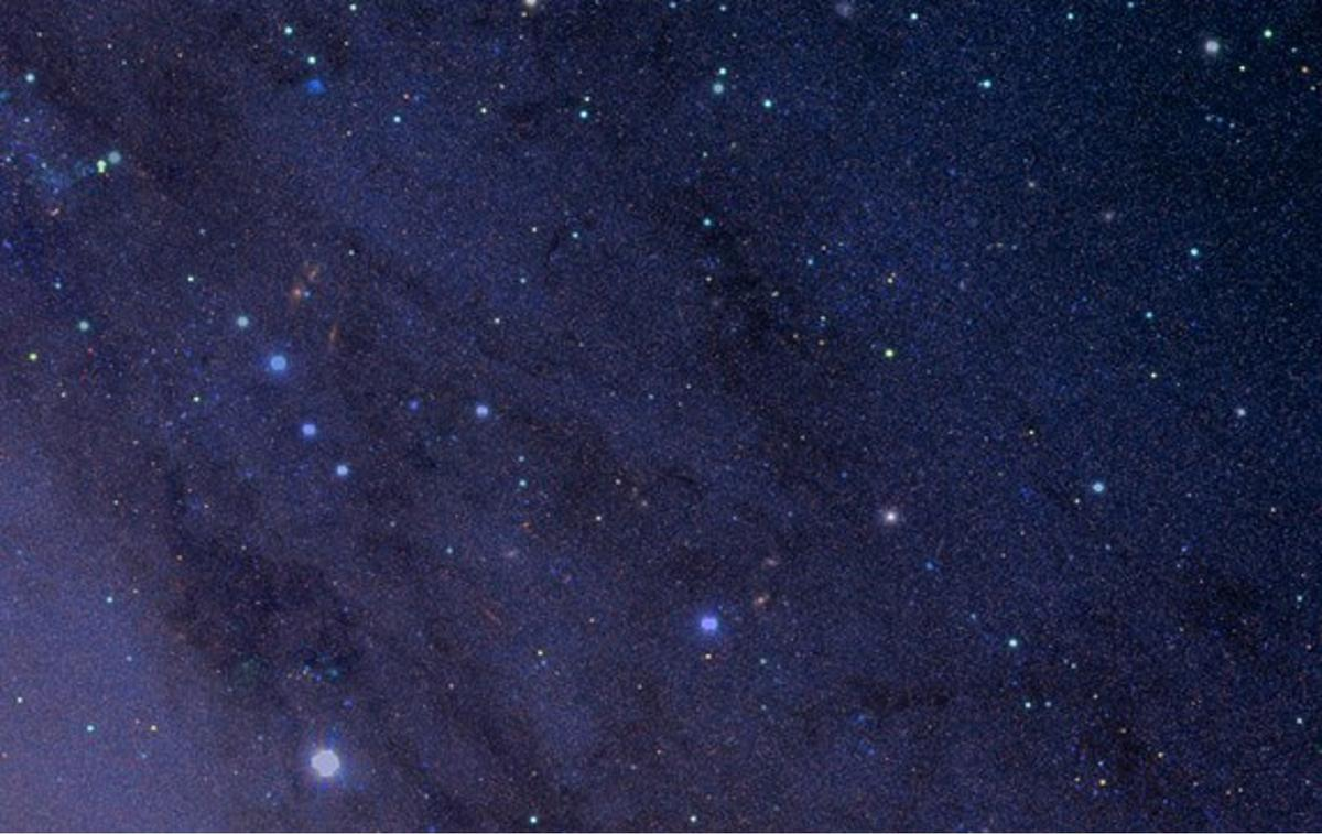 Extreme close up of the Andromeda galaxy (Image: Robert Lupton, HSC team)