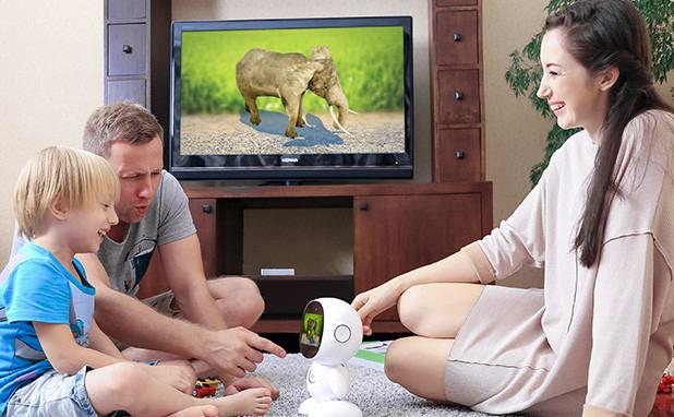Parents can use the Honeybot to teach kids with a variety of built-in Android-based apps