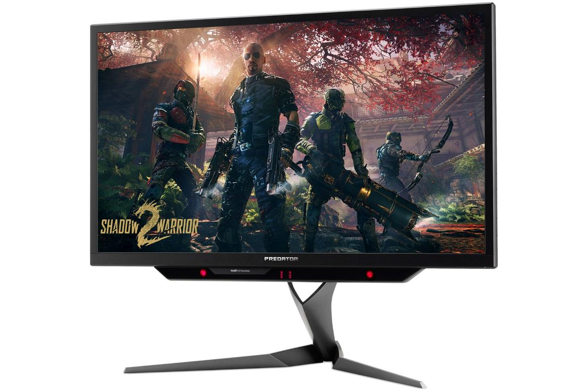Acer's long-awaited Predator X27 4K gaming monitor with Nvidia's G-Sync HDR technology is expected to ship on June 1