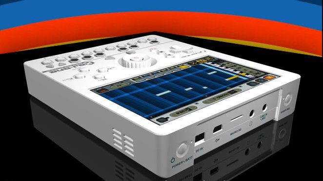CyberStep says that it has developed the world's first fully portable, handheld digital audio workstation