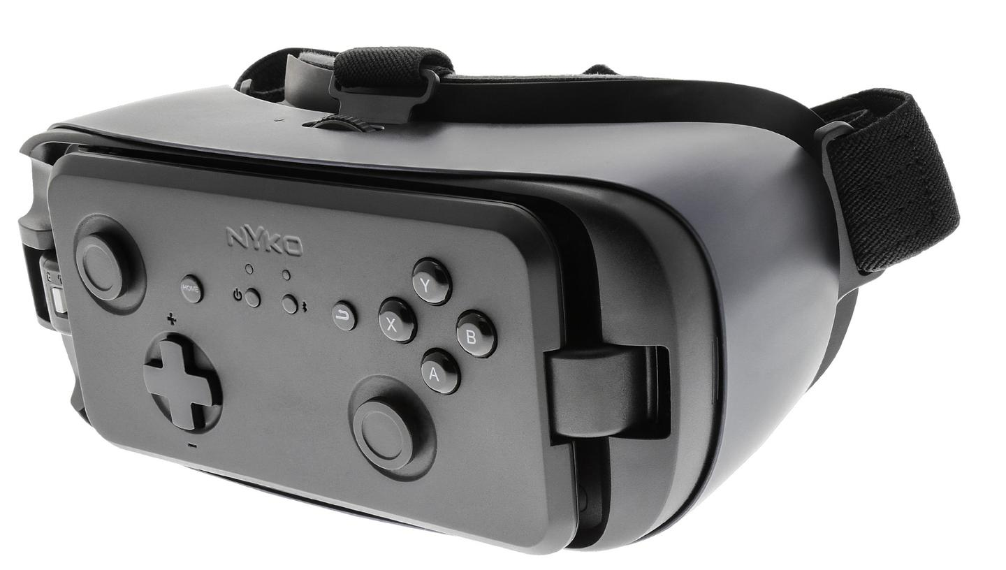 Nyko is launching an official gamepad for the Gear VR that clips into the headset's front for easy storage