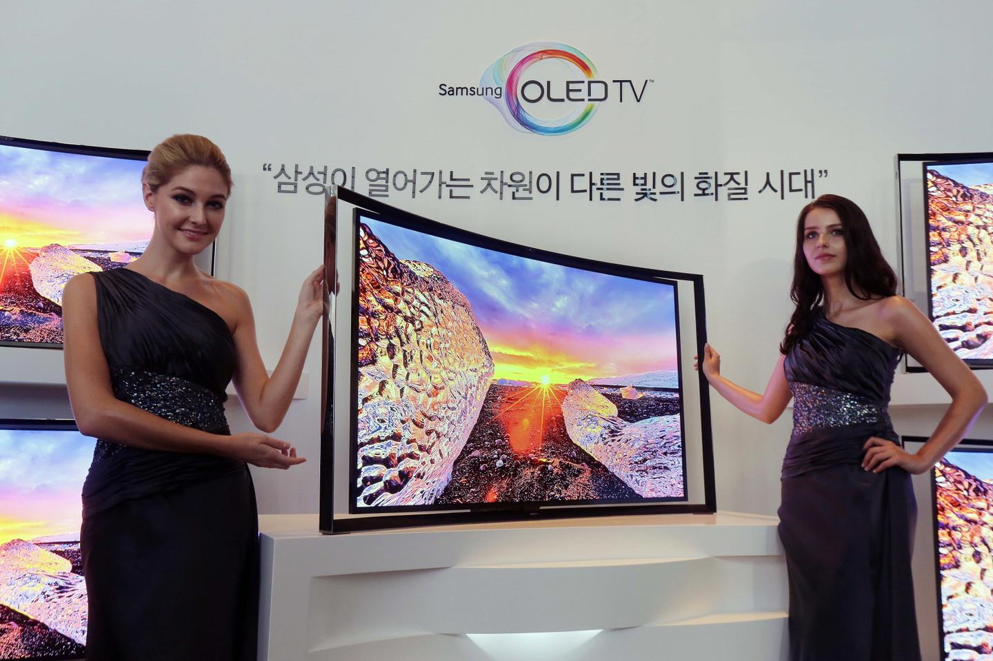 Samsung says that by keeping the distance between viewer and TV the same from almost any angle or vantage point, users benefit from a true-to-life, flawless watching experience