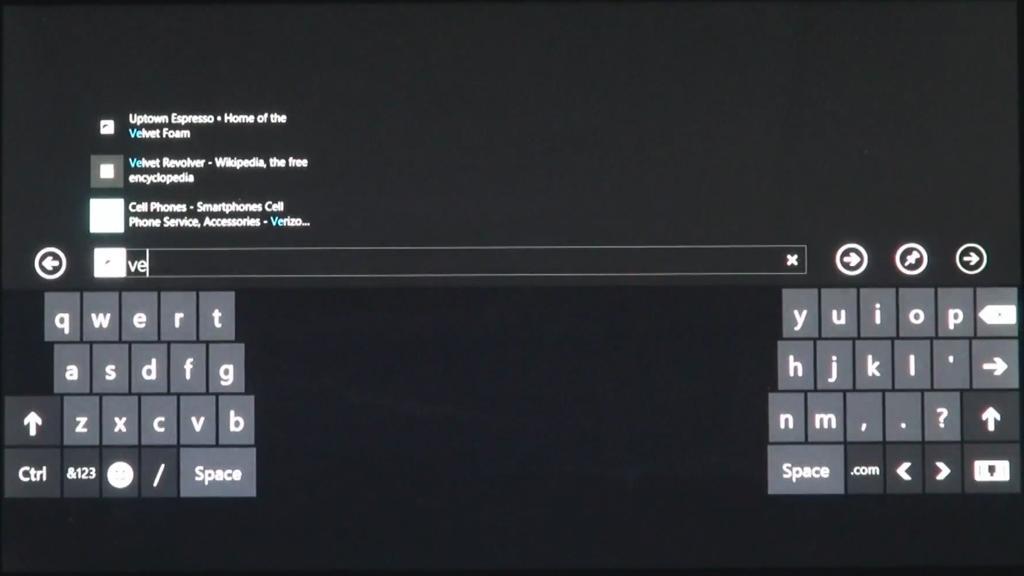 Thumbs layout keyboard