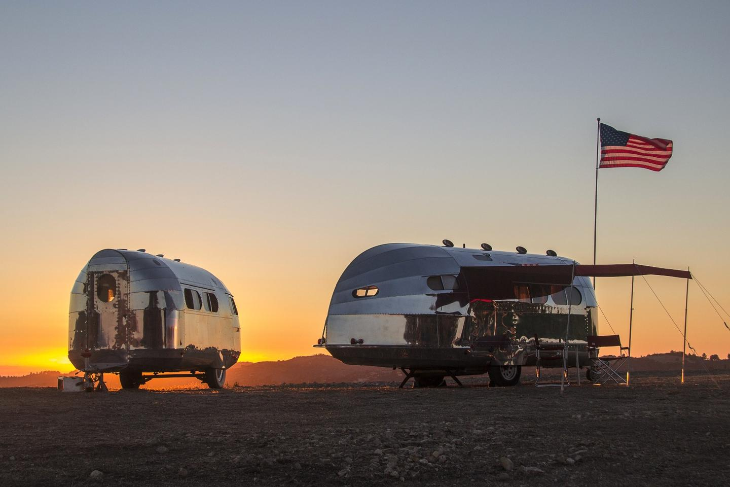 The Bowlus Road Chief Lithium+ is billed as the world's most technologically advanced trailer and has the features to make the argument