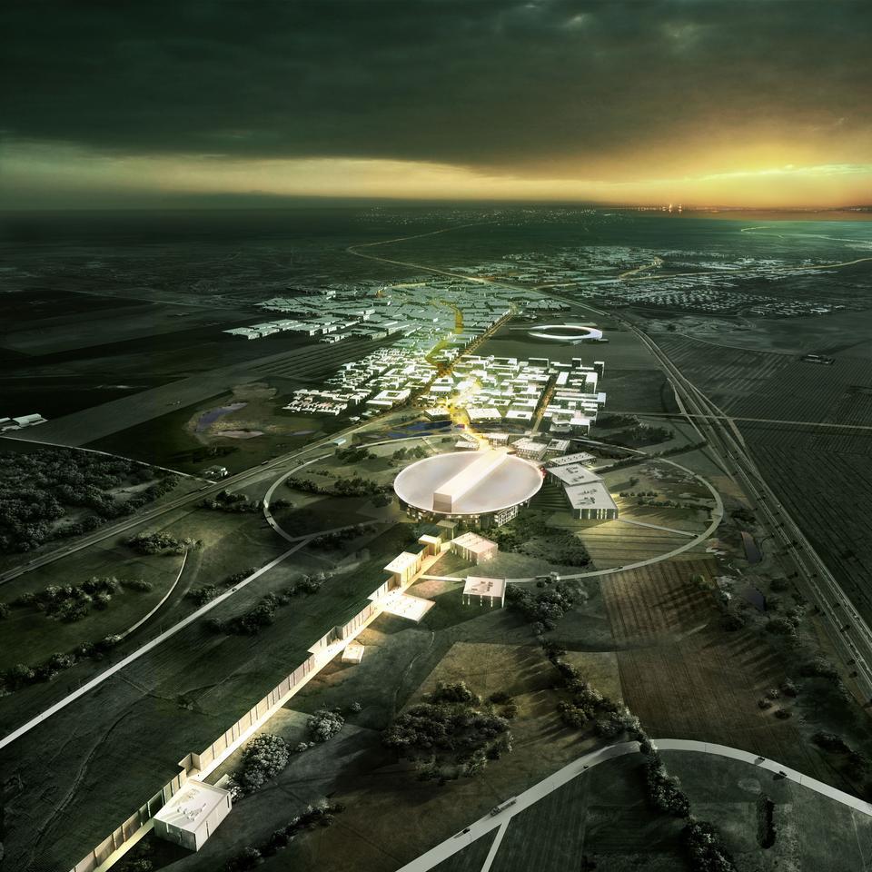 Team Henning Larsen Architects' design