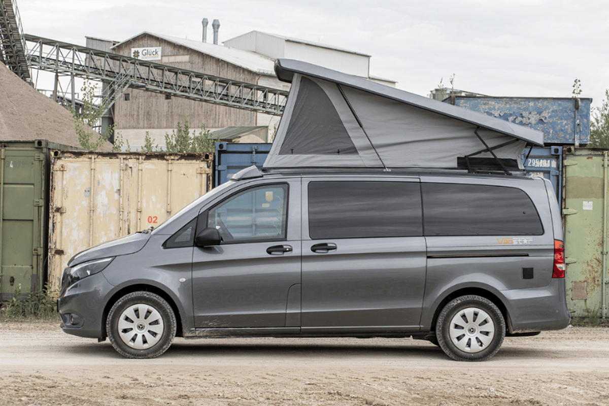It appears both the Campstar and Vanstar will be small family camper vans with pop-up roof