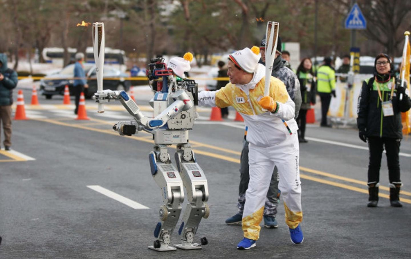 Hubo previously won the 2015 DARPA Robotics Challenge