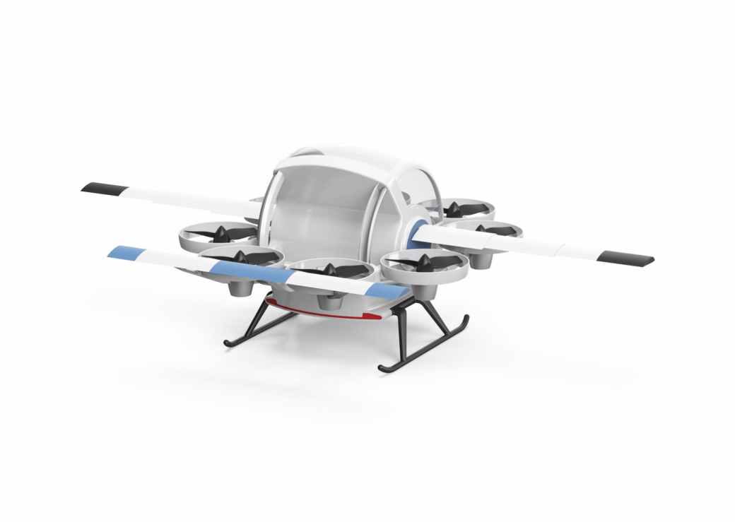 Yeair!'s Persocopter personal flight concept