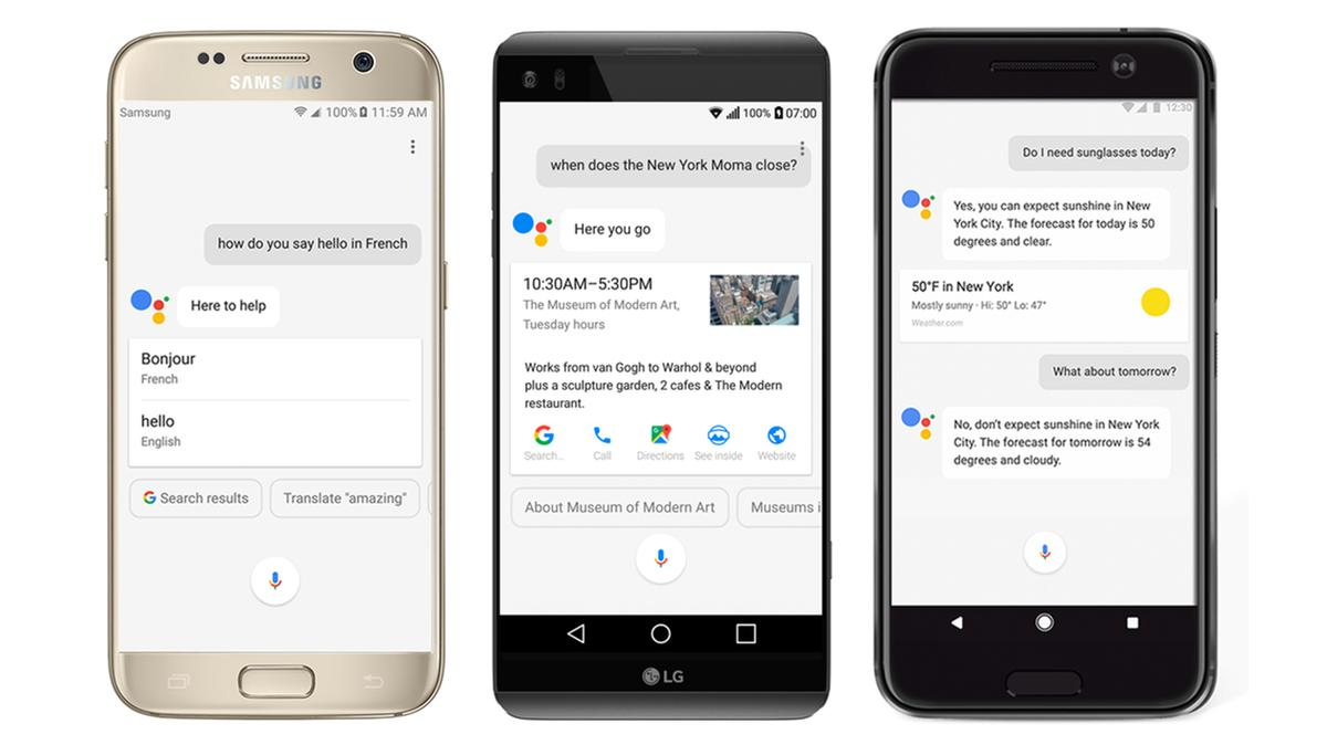 Google Assistant is rolling out to all eligiblephones with Android 6.0 Marshmallow and higher
