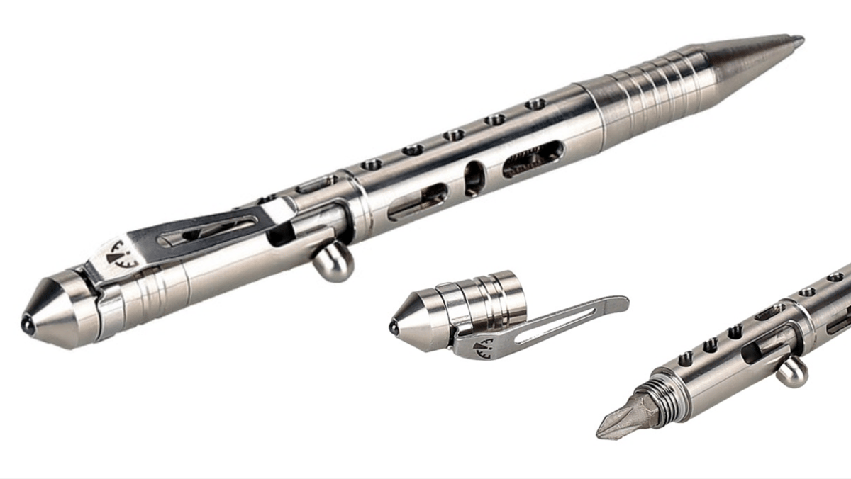 Zerohour's Apex Bolt tactical pen