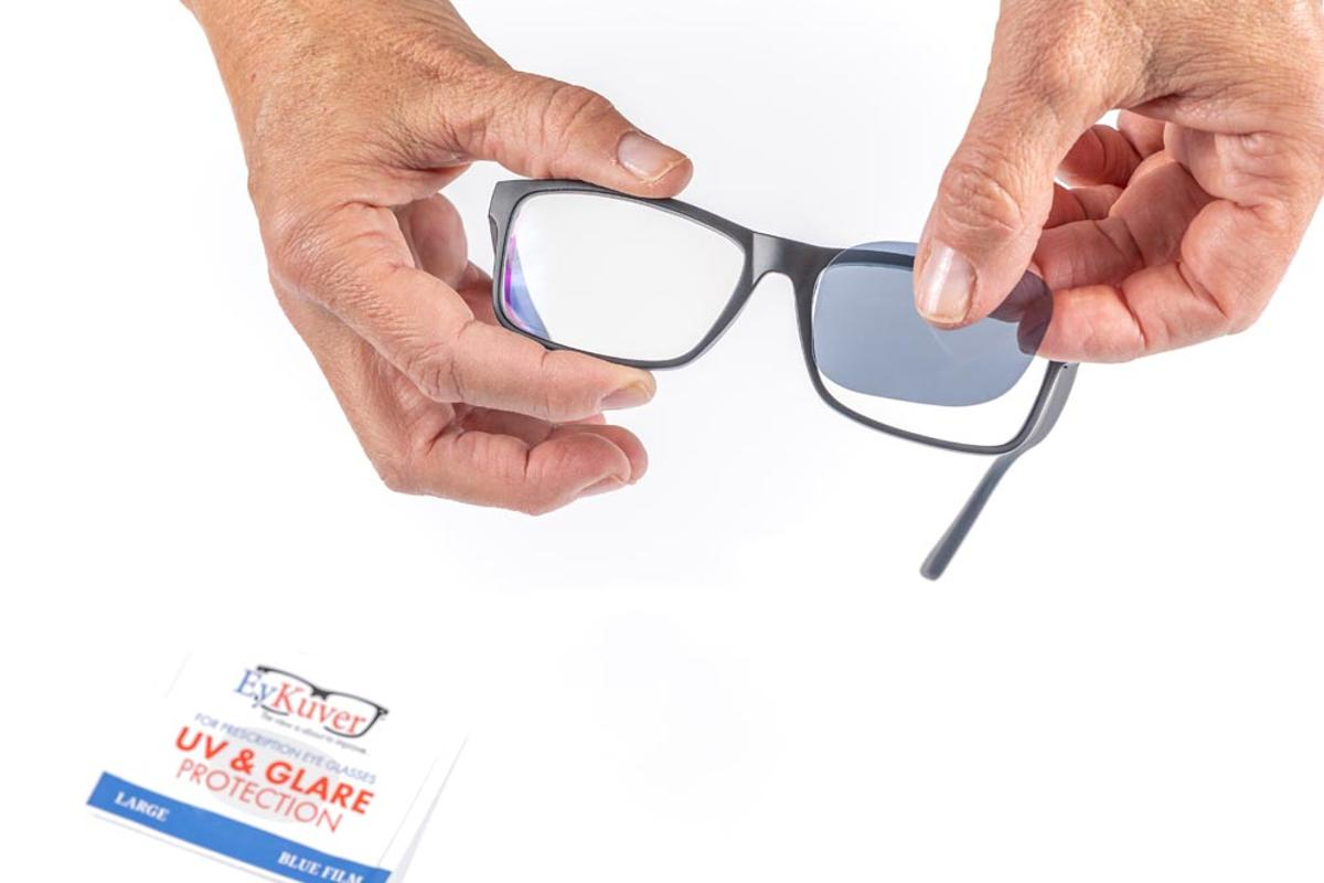 EyKuver looks to give eyeglass wearers a shortcut to creating prescription sunglasses