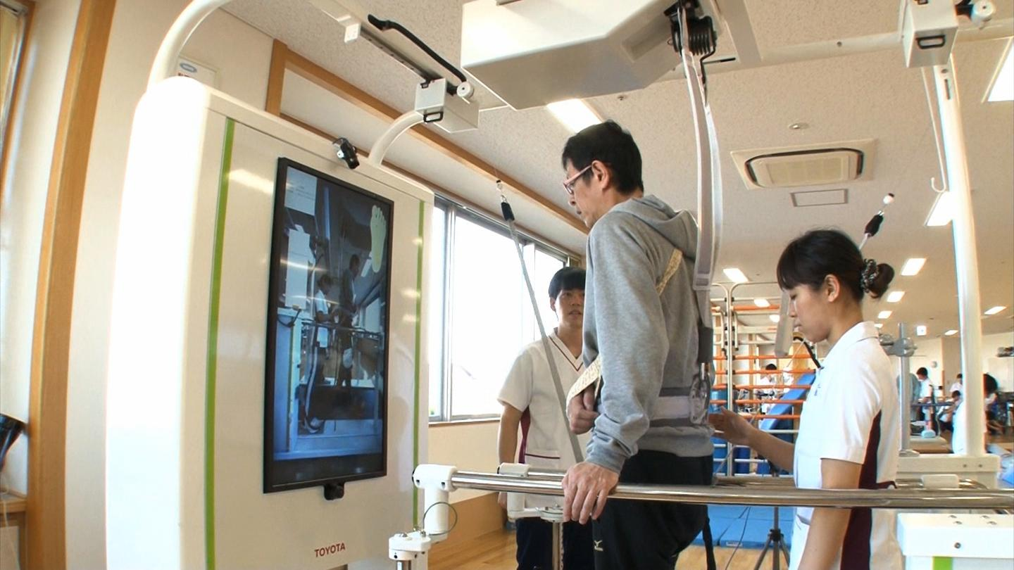 Toyota gets elderly back on their feet with robotic brace