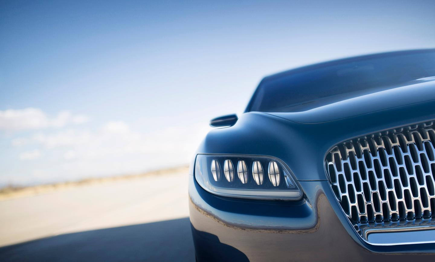 The Continental Concept has a very strong Lincoln identity