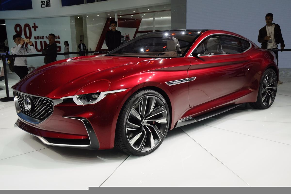 MG debuts the E-motion concept at Auto Shanghai 2017