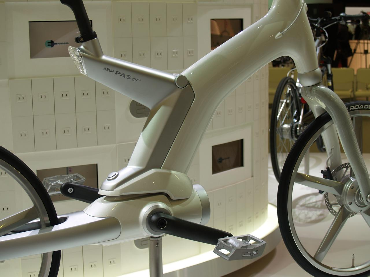 """The Yamaha """"PAS er"""" pedal-assist electric prototype from 2009 will make another appearance in 2011"""