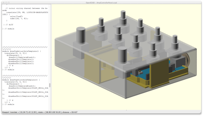 3D models and schematics have been created for easy upscaling to higher production runs