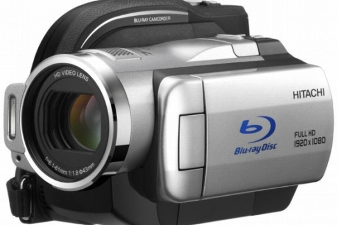 Hitachi's DZ-BD10H Blu-ray camcorder
