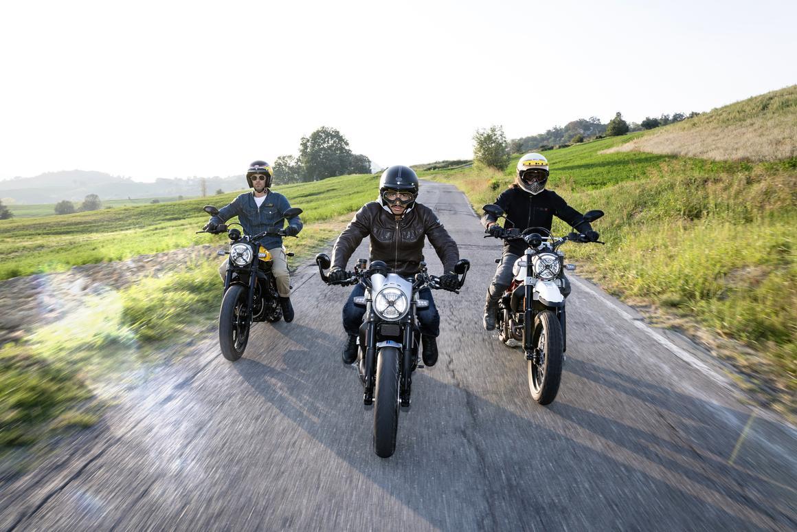 Ducati has motored three fresh Scramblers into Intermot 2018