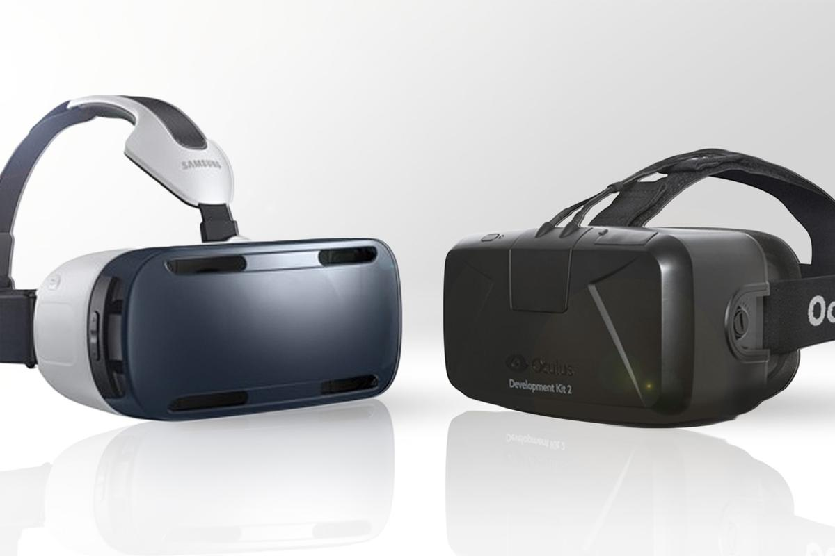 Gizmag compares the features and specs of the consumer-friendly Gear VR and developers-only Oculus Rift DK2