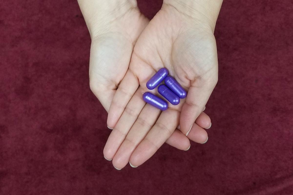 The RaniPill looks much like any other capsule, before it reaches the small intestine