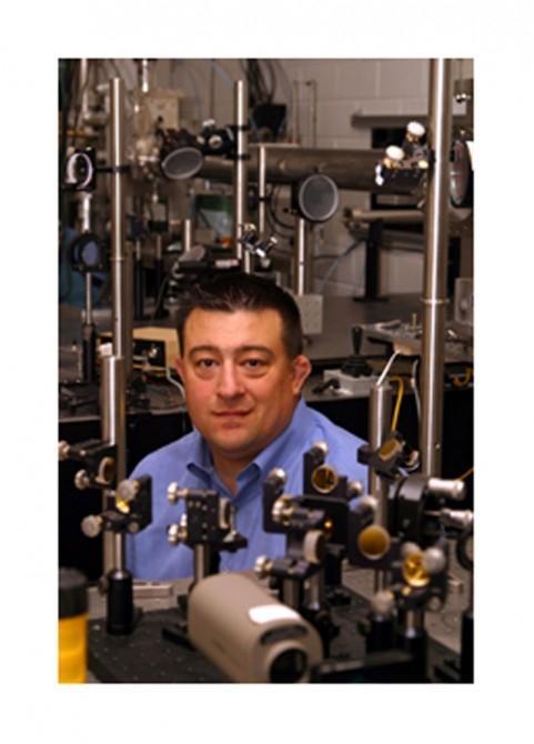 Texas Petawatt Laser project director Dr.Todd Ditmire