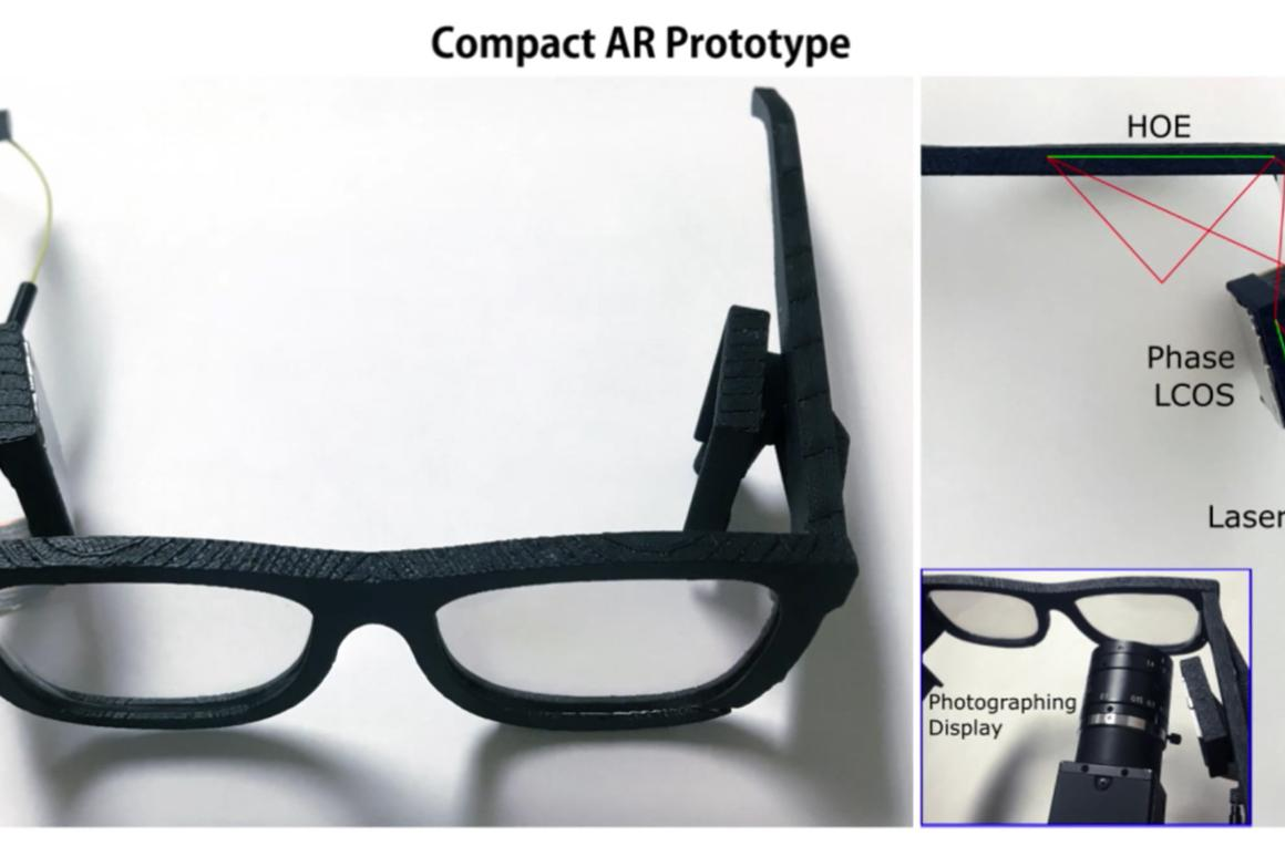 Microsoft researchers outline their latest strides in developing wearable holographic displays for AR and VR glasses