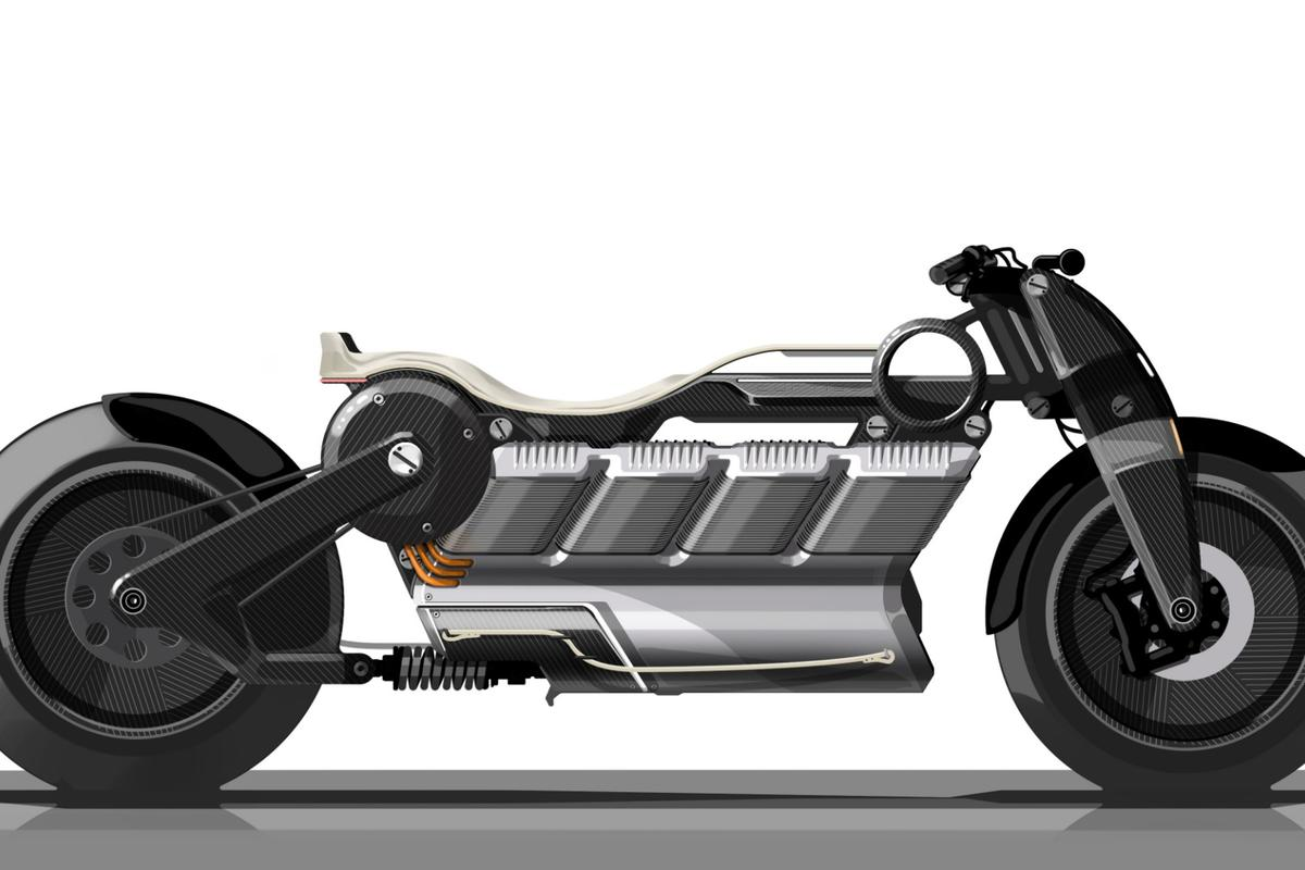 The Hera, from Curtiss Motorcycles, is a tribute to a land-speed hero of yesteryear