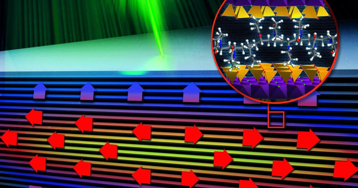 Transparent material conducts and insulates heat at the same time