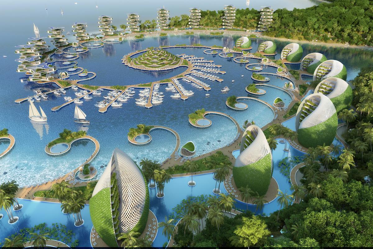 The Nautilus Eco-Resort showcases Vincent Callebaut's unique take on futuristic sustainable architecture