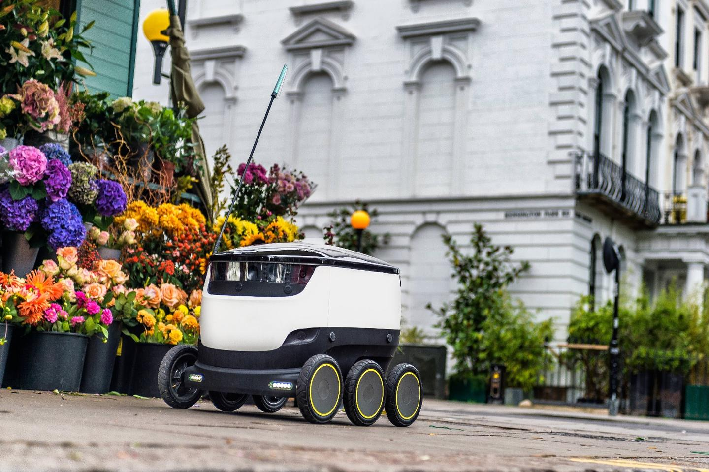 Starship's robots have been tested as part of food delivery pilots in the UK, Germany and Netherlands, along with other trials in Estonia and Switzerland
