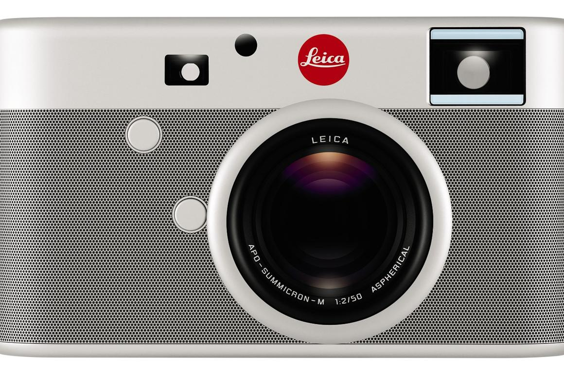 Jony Ive and Marc Newson created the one-of-a-kind Leica digital camera which will be sold at auction to raise money for the (RED) charity