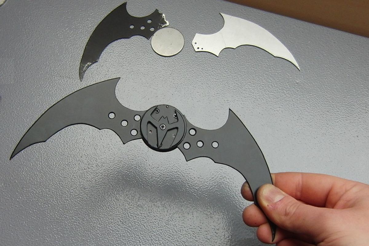 The batarang, open for business