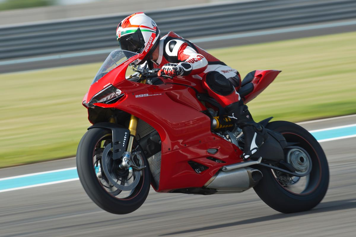 Ducati's Panigale is already winning Superstock races, though the Panigale-based superbike has not yet debuted