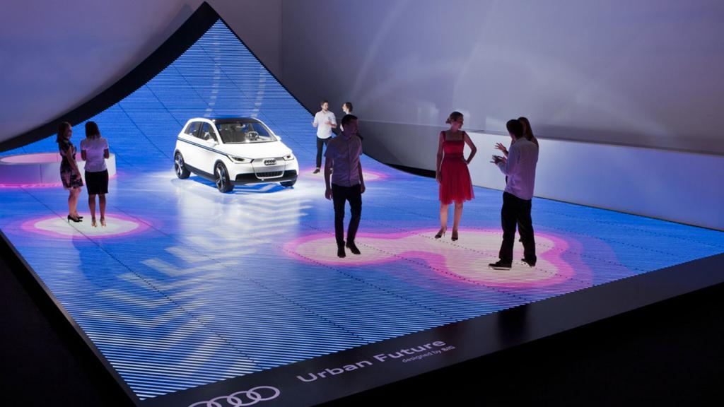 """The """"Urban Future"""" installation at Design Miami/ 2010"""