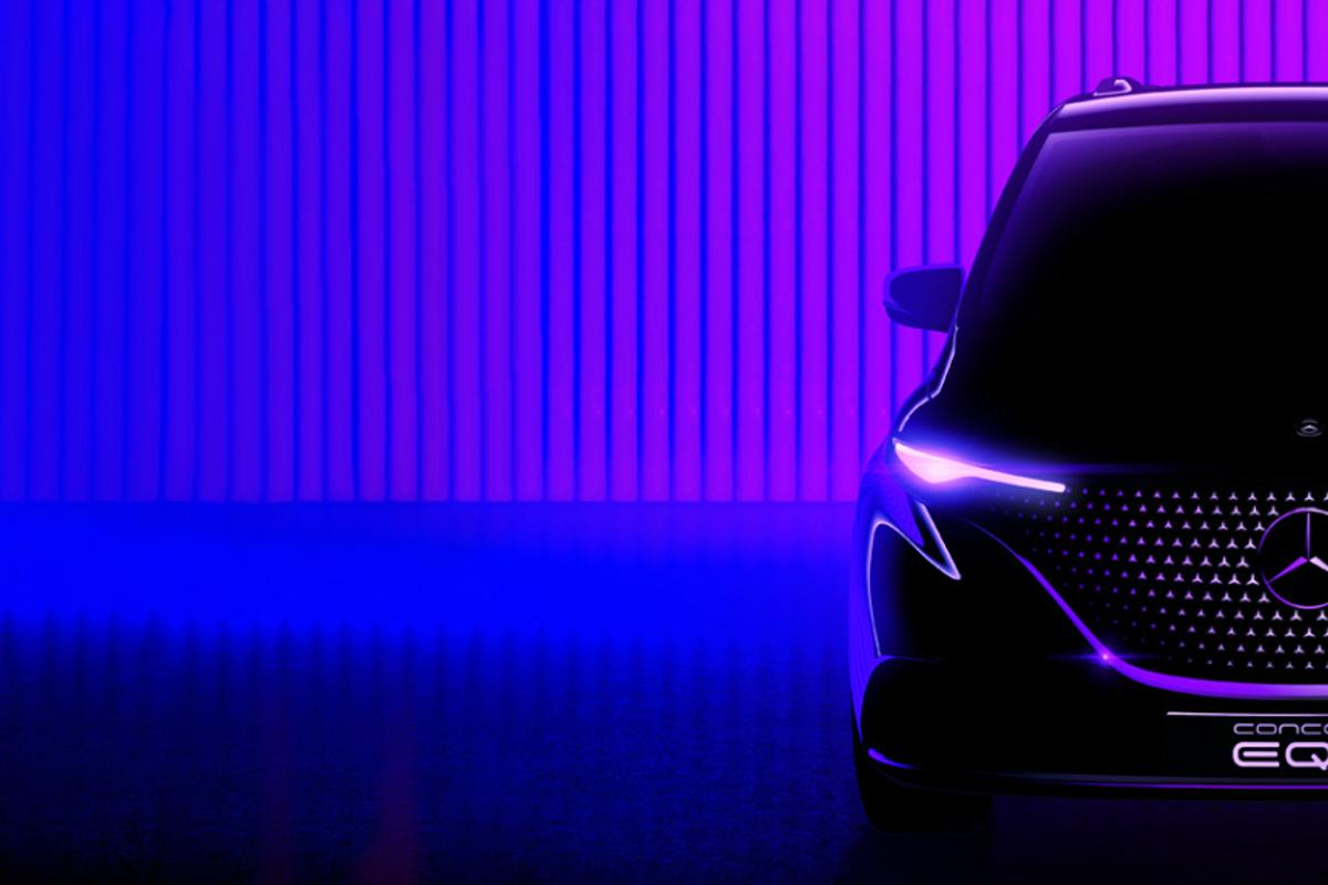 The Concept EQT will provide a first look at a near-production Mercedes electric small van