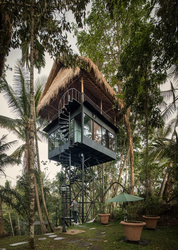 The Lift treetop boutique hideaway offers guests a unique experience to sleep amid the treetops in a luxurious eco-structure