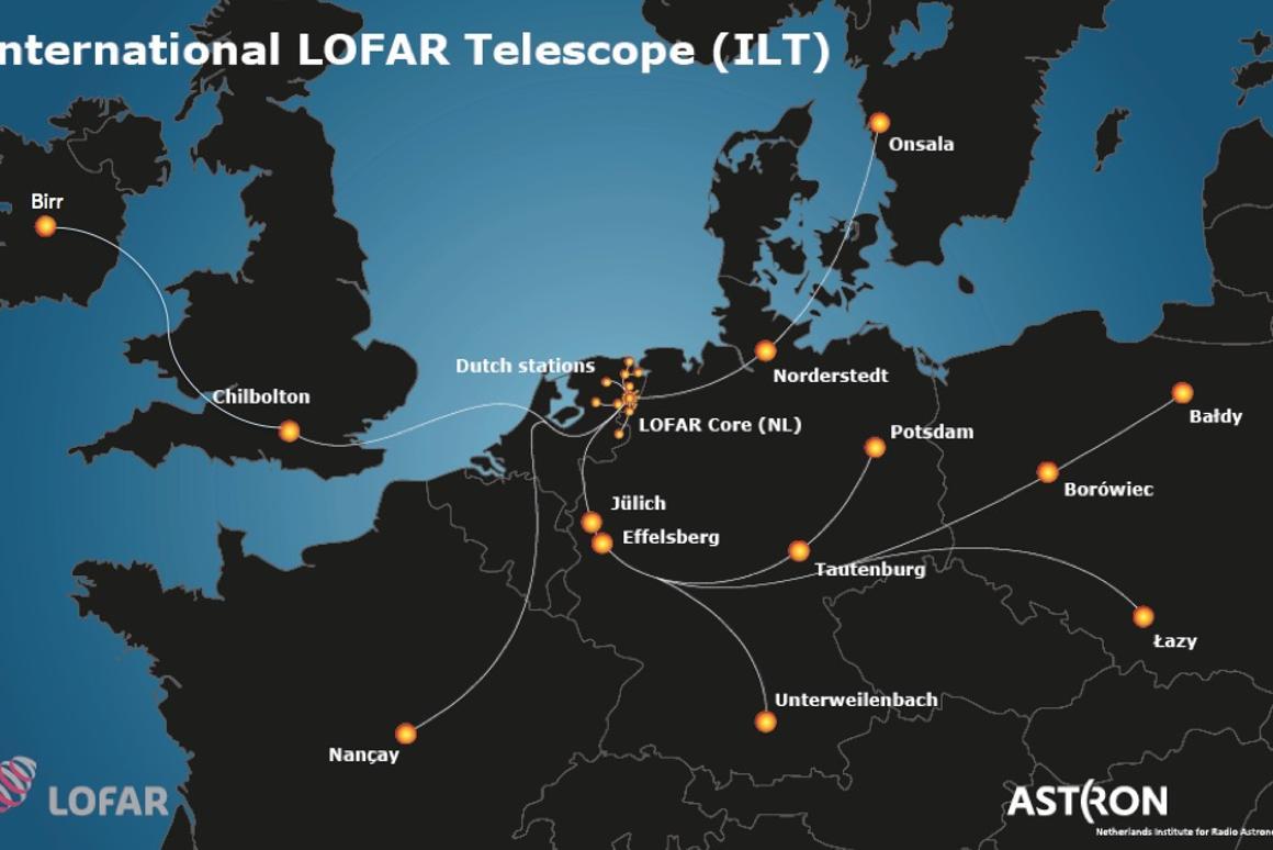 The LOFAR telescope network