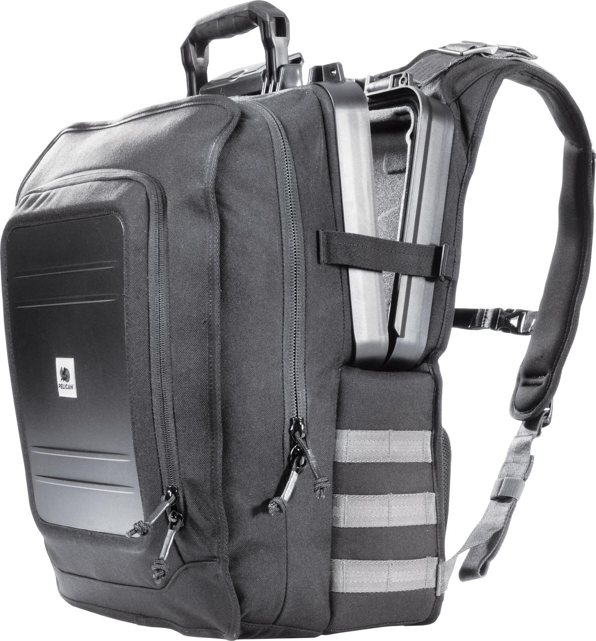 The U140 Elite Tablet Backpack protects your tablet with a hard case