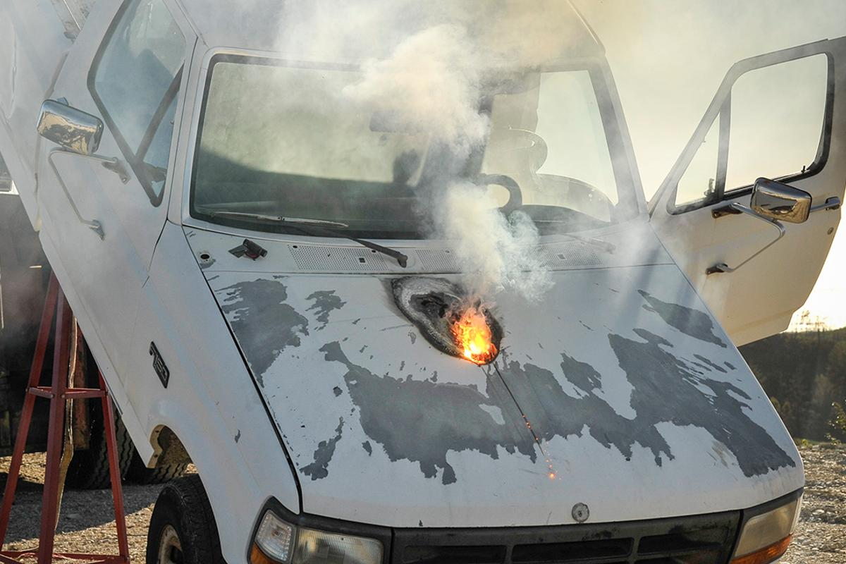 Lockheed Martin's related ATHENA laser weapon system was tested against a pickup truck in March