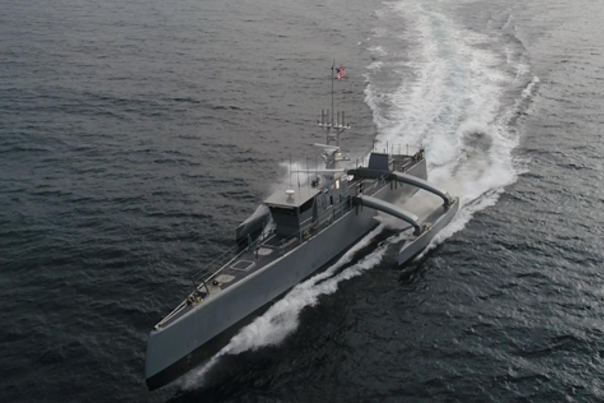 Following thesuccessfulcompletion ofits Anti-Submarine Warfare (ASW) Continuous Trail Unmanned Vessel (ACTUV) program, DARPAhas officially transferred the technology demonstration vessel, christened Sea Hunter, to the Office of Naval Research (ONR)