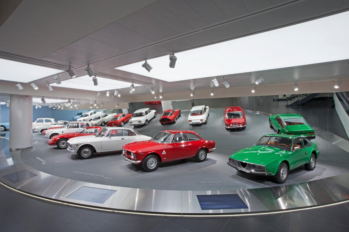 There are 69 models on display at the new Alfa Romeo museum