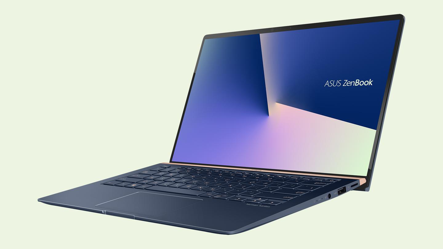The new Asus ZenBook range offers a screen-to-body ratio of up to 95 percent