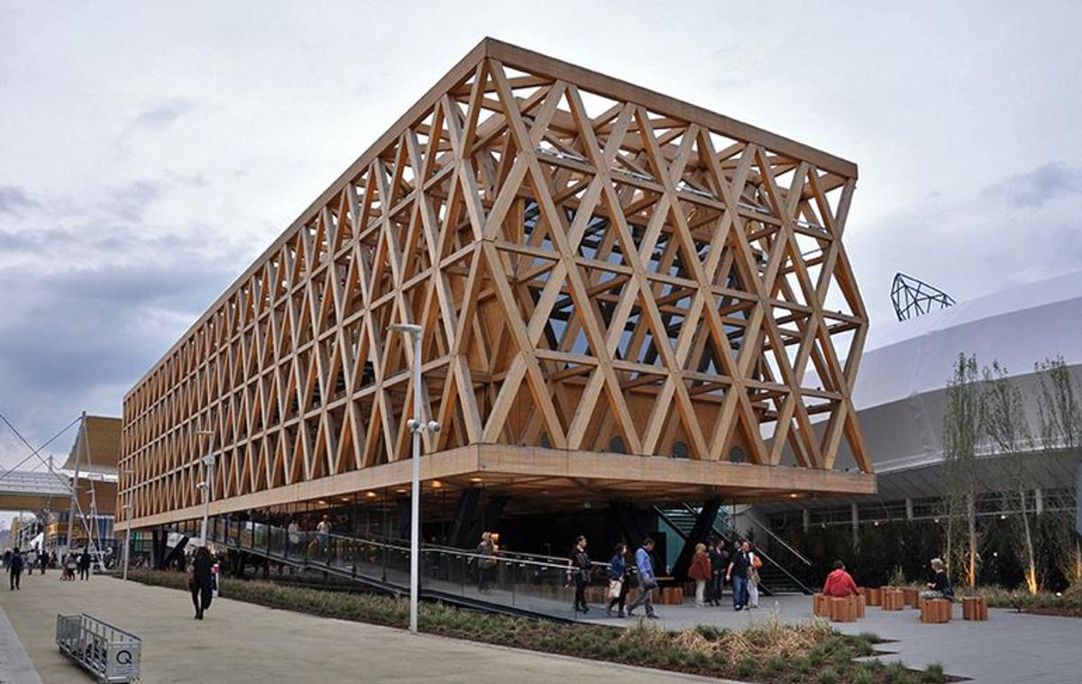 Renown Chilean architect Cristián Undurraga has created a standout pavilion for this year's World Exposition