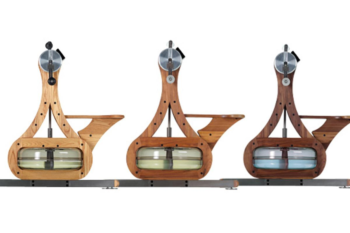 The WaterGrinder was designed to let you act like a sailboat grinder – the demanding position responsible for operating hand-driven winches to move the sails and boom