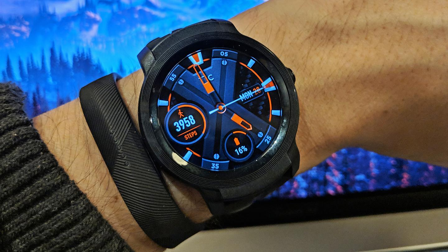 The TicWatch E2 isn't the best-looking Wear OS watch we've ever seen, but it ticks a lot of boxes