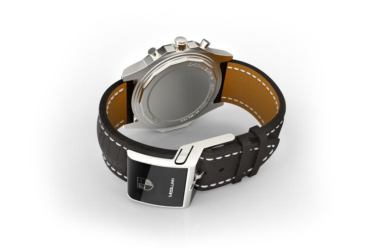 The Modillion smart strap turns a mechanical watch into a smart one