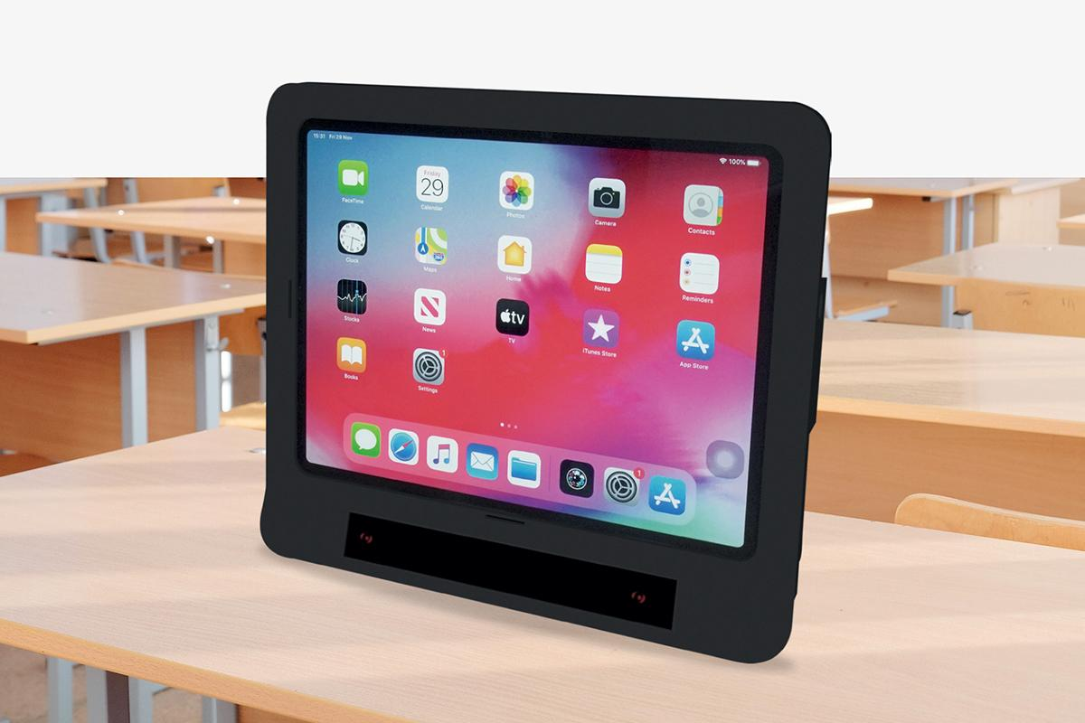 The Skyle system combines a case and an app for the iPad Pro