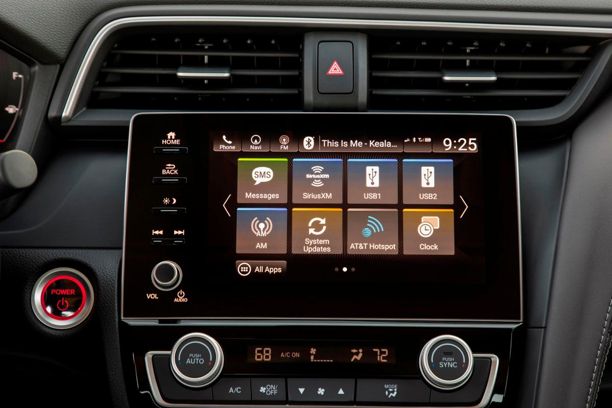 We like the new Honda infotainment interface, which includes tablet-like pinch/swipe gesture controls and fast responses